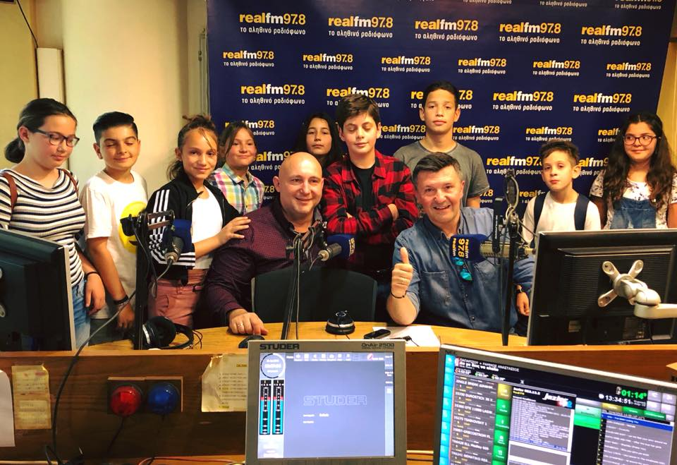 Από τα θρανία…στον REAL FM 97.8 το 10ο Δημοτικό Άνω Λιοσίων